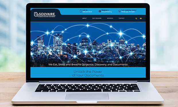 Solvaire Unveils New Website - Facilitates Access to Diligence, Discovery, and Document Services